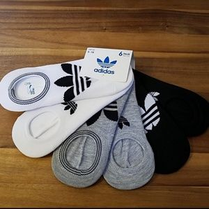 Adidas ultra low no show socks 6pairs